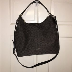 Black and gray NWOT Coach Bag